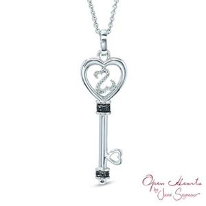 Jewelry - Open Hearts Silver Pendant